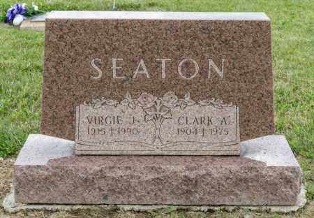 SEATON, CLARK A - Richland County, Ohio | CLARK A SEATON - Ohio Gravestone Photos