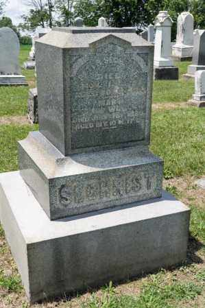 SECHRIST, MARY - Richland County, Ohio | MARY SECHRIST - Ohio Gravestone Photos