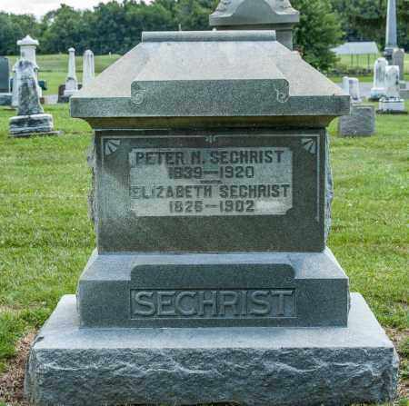 SECHRIST, PETER N - Richland County, Ohio | PETER N SECHRIST - Ohio Gravestone Photos