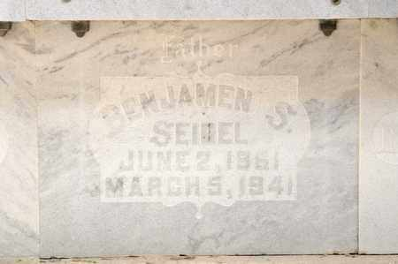 SEIDEL, BENJAMEN S - Richland County, Ohio | BENJAMEN S SEIDEL - Ohio Gravestone Photos