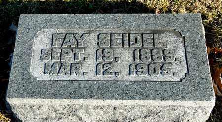 SEIDEL, FAY - Richland County, Ohio | FAY SEIDEL - Ohio Gravestone Photos