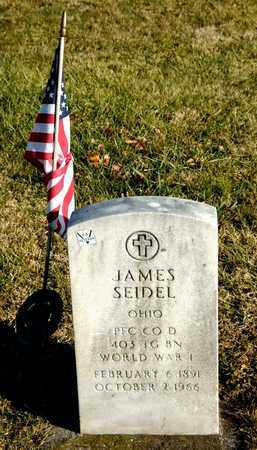 SEIDEL, JAMES - Richland County, Ohio | JAMES SEIDEL - Ohio Gravestone Photos