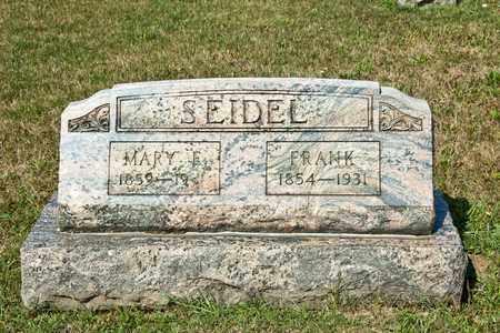 SEIDEL, FRANK - Richland County, Ohio | FRANK SEIDEL - Ohio Gravestone Photos