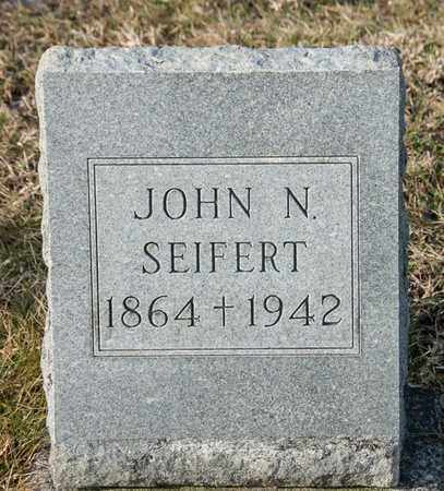 SEIFERT, JOHN N - Richland County, Ohio | JOHN N SEIFERT - Ohio Gravestone Photos