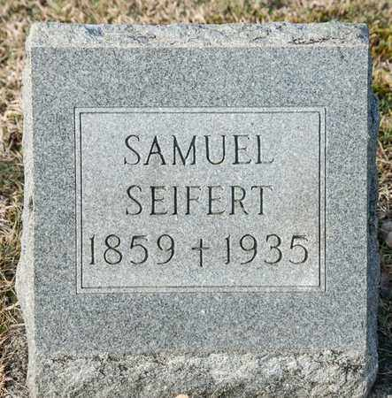 SEIFERT, SAMUEL - Richland County, Ohio | SAMUEL SEIFERT - Ohio Gravestone Photos