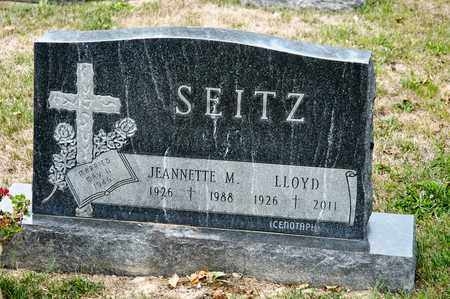 SEITZ, LLOYD - Richland County, Ohio | LLOYD SEITZ - Ohio Gravestone Photos