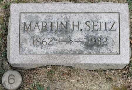 SEITZ, MARTIN H - Richland County, Ohio | MARTIN H SEITZ - Ohio Gravestone Photos