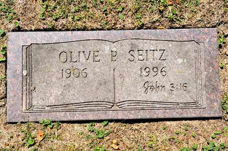 SEITZ, OLIVE P - Richland County, Ohio | OLIVE P SEITZ - Ohio Gravestone Photos