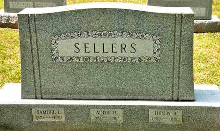 SELLERS, ADDIE H - Richland County, Ohio | ADDIE H SELLERS - Ohio Gravestone Photos