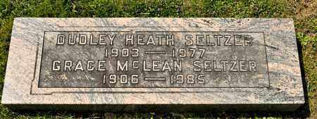 SELTZER, DUDLEY HEATH - Richland County, Ohio | DUDLEY HEATH SELTZER - Ohio Gravestone Photos