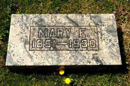 SELTZER, MARY E - Richland County, Ohio | MARY E SELTZER - Ohio Gravestone Photos