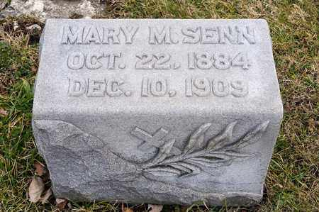 SENN, MARY M - Richland County, Ohio | MARY M SENN - Ohio Gravestone Photos