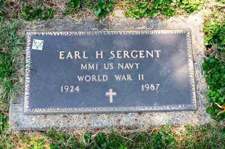 SERGENT, EARL H - Richland County, Ohio | EARL H SERGENT - Ohio Gravestone Photos