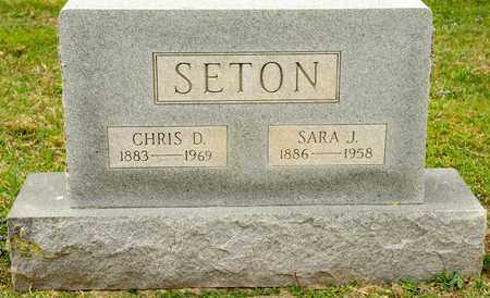 SETON, CHRIS D - Richland County, Ohio | CHRIS D SETON - Ohio Gravestone Photos