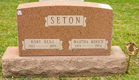 MINICH SETON, MARTHA - Richland County, Ohio | MARTHA MINICH SETON - Ohio Gravestone Photos