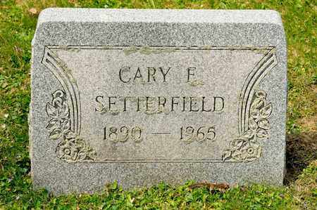 SETTERFIELD, CARY E - Richland County, Ohio | CARY E SETTERFIELD - Ohio Gravestone Photos