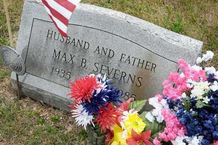 SEVERNS, MAX B - Richland County, Ohio | MAX B SEVERNS - Ohio Gravestone Photos