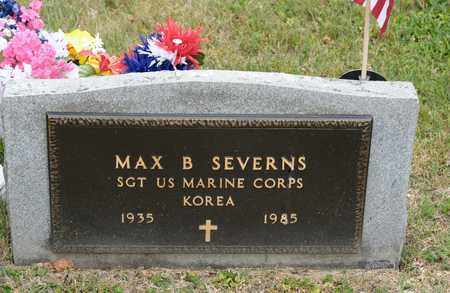SEVERNS, MAX B - Richland County, Ohio | MAX B SEVERNS - Ohio Gravestone Photos