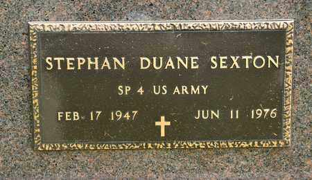 SEXTON, STEPHAN DUANE - Richland County, Ohio | STEPHAN DUANE SEXTON - Ohio Gravestone Photos