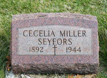 SEYFORS, CECELIA - Richland County, Ohio | CECELIA SEYFORS - Ohio Gravestone Photos