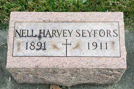 HARVEY SEYFORS, NELL - Richland County, Ohio | NELL HARVEY SEYFORS - Ohio Gravestone Photos