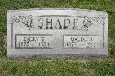 SHADE, EMERY W - Richland County, Ohio | EMERY W SHADE - Ohio Gravestone Photos