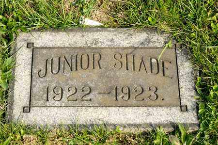SHADE, JUNIOR - Richland County, Ohio | JUNIOR SHADE - Ohio Gravestone Photos