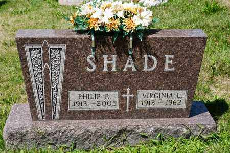 SHADE, VIRGINIA L - Richland County, Ohio | VIRGINIA L SHADE - Ohio Gravestone Photos