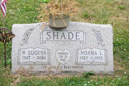 SHADE, W EUGENE - Richland County, Ohio | W EUGENE SHADE - Ohio Gravestone Photos