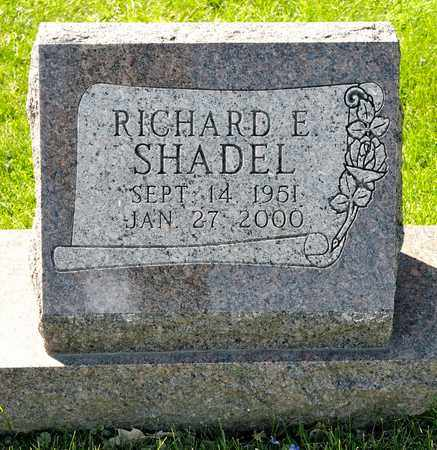 SHADEL, RICHARD E - Richland County, Ohio | RICHARD E SHADEL - Ohio Gravestone Photos