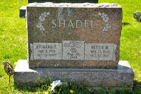 SHADEL, NETTIE M - Richland County, Ohio | NETTIE M SHADEL - Ohio Gravestone Photos