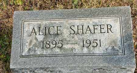 SHAFER, ALICE - Richland County, Ohio | ALICE SHAFER - Ohio Gravestone Photos