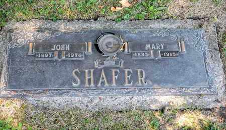 SHAFER, JOHN - Richland County, Ohio | JOHN SHAFER - Ohio Gravestone Photos