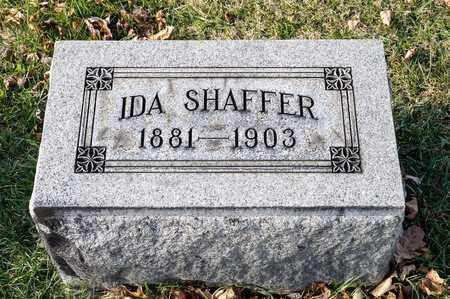 SHAFFER, IDA - Richland County, Ohio | IDA SHAFFER - Ohio Gravestone Photos