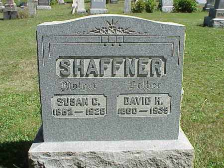 SHAFFNER, DAVID H. - Richland County, Ohio | DAVID H. SHAFFNER - Ohio Gravestone Photos
