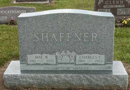 SHAFFNER, CHARLES E - Richland County, Ohio | CHARLES E SHAFFNER - Ohio Gravestone Photos