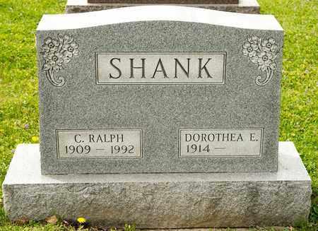 SHANK, C RALPH - Richland County, Ohio | C RALPH SHANK - Ohio Gravestone Photos