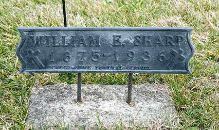 SHARP, WILLIAM E - Richland County, Ohio | WILLIAM E SHARP - Ohio Gravestone Photos