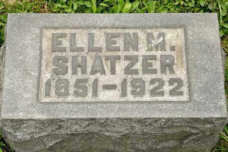SHATZER, ELLEN M - Richland County, Ohio | ELLEN M SHATZER - Ohio Gravestone Photos