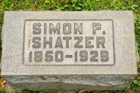 SHATZER, SIMON P - Richland County, Ohio | SIMON P SHATZER - Ohio Gravestone Photos