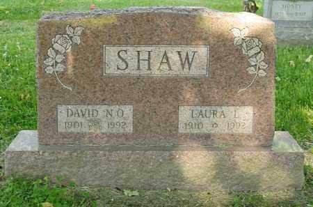 SHAW, DAVID N O - Richland County, Ohio | DAVID N O SHAW - Ohio Gravestone Photos