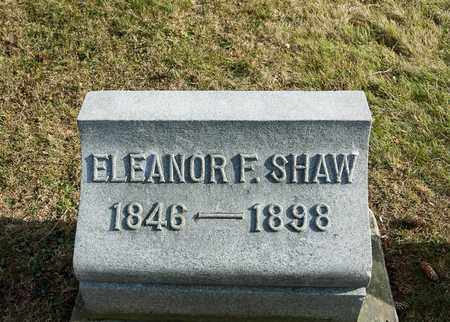 SHAW, ELEANOR F - Richland County, Ohio | ELEANOR F SHAW - Ohio Gravestone Photos