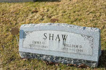 SHAW, WILLIAM D - Richland County, Ohio | WILLIAM D SHAW - Ohio Gravestone Photos