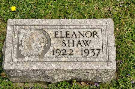 SHAW, ELEANOR - Richland County, Ohio | ELEANOR SHAW - Ohio Gravestone Photos