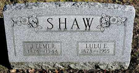 SHAW, LULU E - Richland County, Ohio | LULU E SHAW - Ohio Gravestone Photos