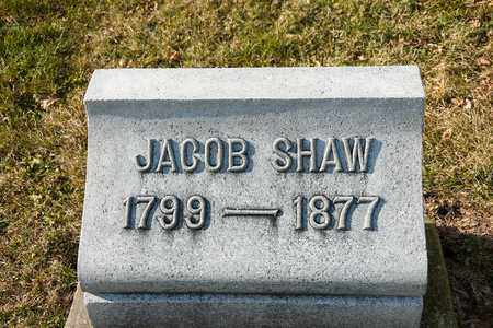 SHAW, JACOB - Richland County, Ohio | JACOB SHAW - Ohio Gravestone Photos
