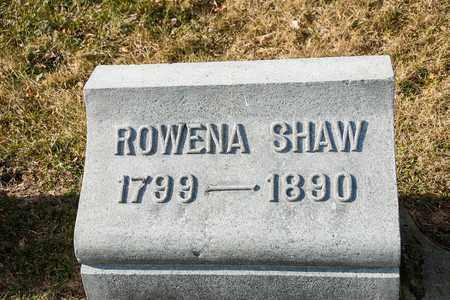 SHAW, ROWENA - Richland County, Ohio | ROWENA SHAW - Ohio Gravestone Photos