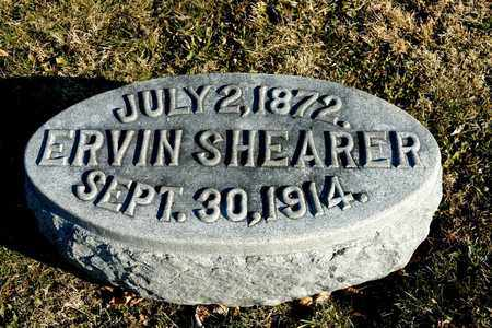 SHEARER, ERVIN - Richland County, Ohio | ERVIN SHEARER - Ohio Gravestone Photos