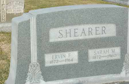 SHEARER, SARAH M - Richland County, Ohio | SARAH M SHEARER - Ohio Gravestone Photos