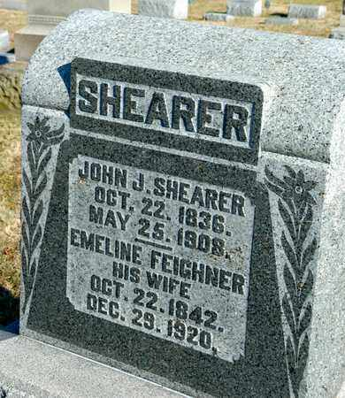 SHEARER, JOHN J - Richland County, Ohio | JOHN J SHEARER - Ohio Gravestone Photos
